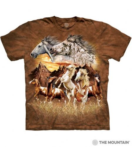 Find 15 Horses T-shirt | The Mountain®
